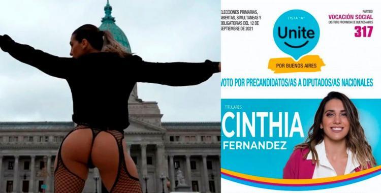 Cinthia Fernández sorprendió a todos al revelar que la llamaron de otro partido político para sumarse | El Diario 24