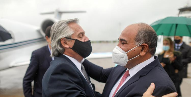 Juan Manzur dialogó con Alberto Fernández y le manifestó su apoyo | El Diario 24