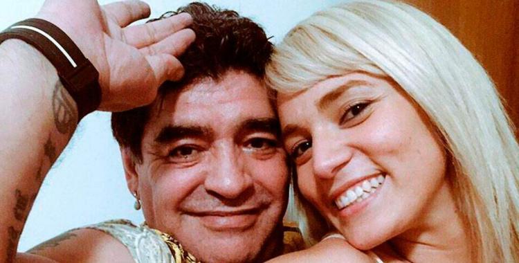 Nadie muere de amor, dijo Rocío Oliva para despegarse de la muerte de Diego Maradona | El Diario 24