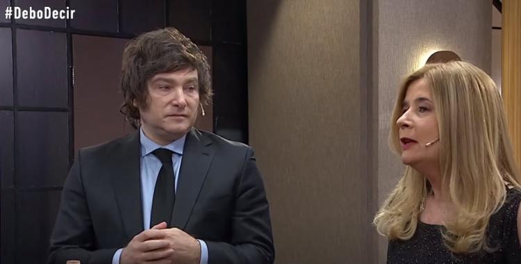 VIDEO Picante cruce entre Javier Milei y Mercedes Ninci   El Diario 24