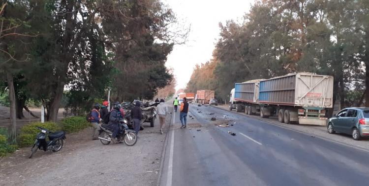VIDEO Accidente fatal en la ruta 304: un joven murió tras chocar contra un camión | El Diario 24