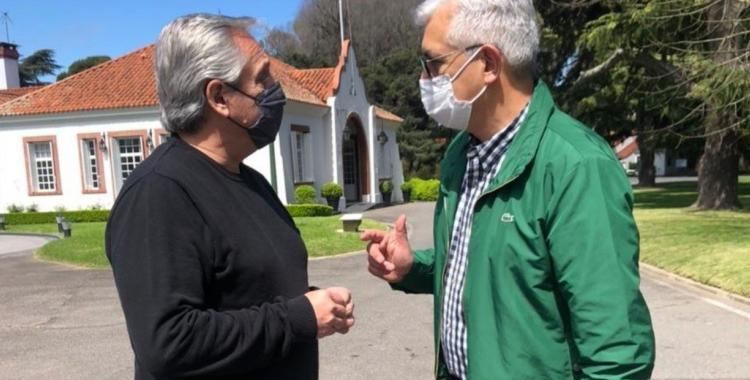 Manzur mantuvo reuniones con Julián Domínguez y Juan Zabaleta en Casa Rosada | El Diario 24