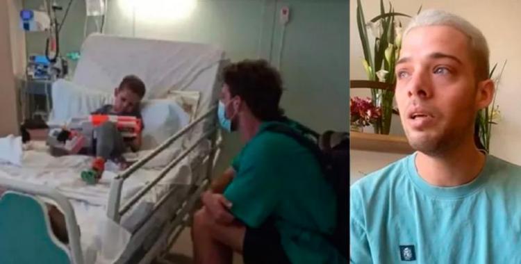 VIDEO Santi Maratea conmovido por la muerte de un niño al que ayudó a viajar a España | El Diario 24