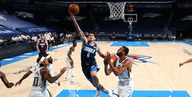 Gabriel Deck fue presentado como uno de los jugadores de Oklahoma para la temporada de la NBA | El Diario 24