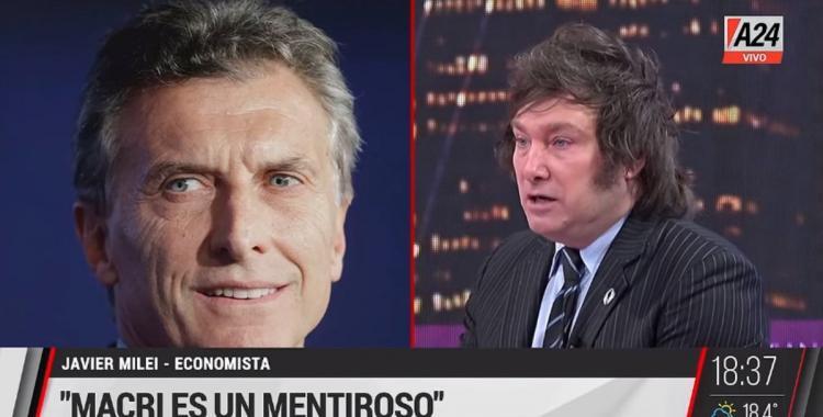 Mauricio Macri criticó y se diferenció de Javier Milei asegurando que es una versión mucho más extrema | El Diario 24