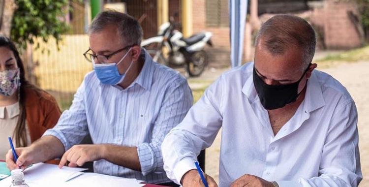 Javier Noguera firmó un convenio para fortalecer la primera infancia | El Diario 24