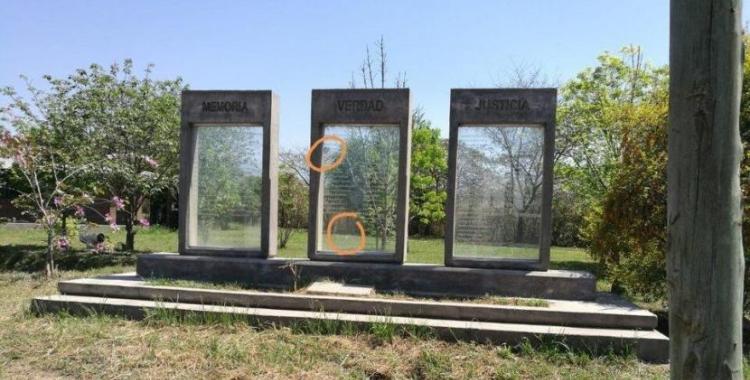 """Atacaron el memorial """"Pozo de Vargas""""   El Diario 24"""