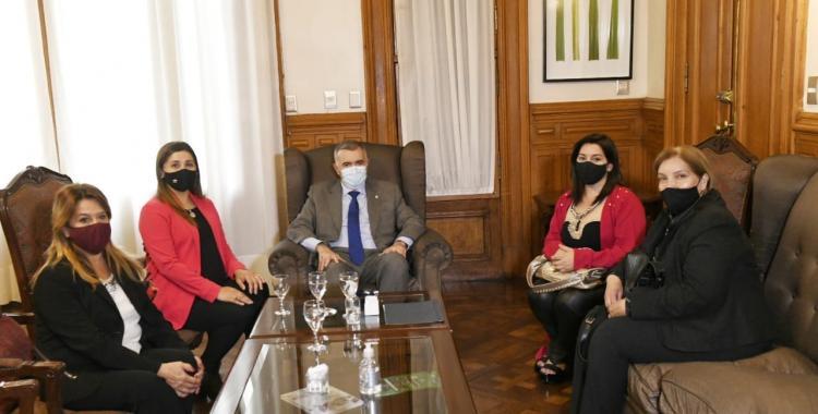 Osvaldo Jaldo recibió a mujeres referentes de Cruz Alta para dar soluciones a familias afectadas por la pandemia   El Diario 24