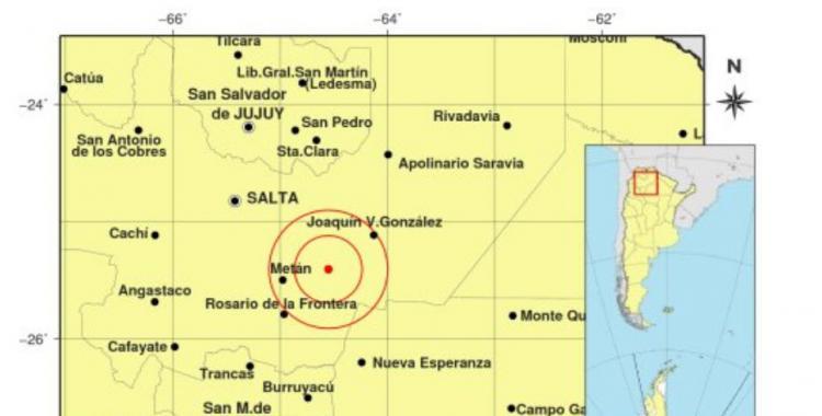 Fuerte temblor sacudió a Tucumán   El Diario 24