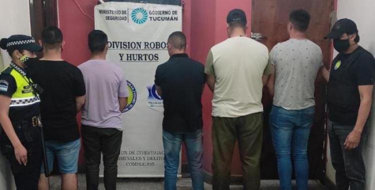 Un policía bonaerense y cuatro hombres armados fueron aprehendidos en el macrocentro tucumano | El Diario 24