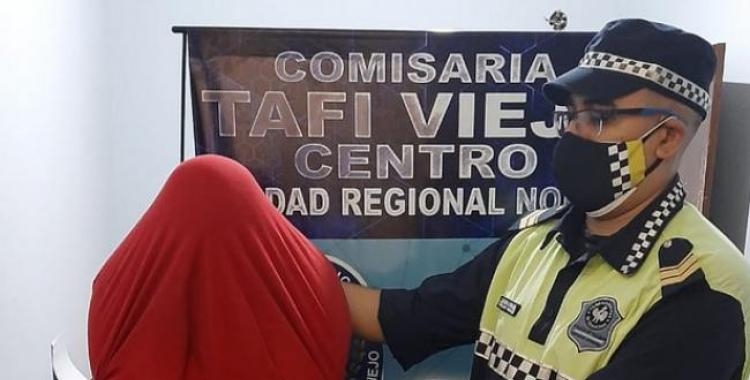 Tafí Viejo: Intentó fugarse tras agredir y dejar inconsciente a su pareja, pero fue detenido | El Diario 24