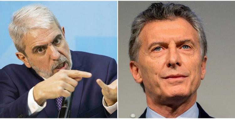 Aníbal Fernández ahora apuntó contra Mauricio Macri con un fuerte insulto   El Diario 24