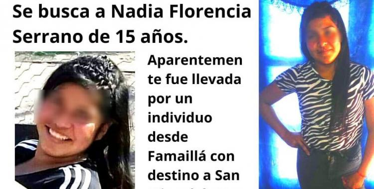 La Policía de Tucumán halló a Nadia Florencia Serrano, la adolescente que estaba desaparecida | El Diario 24