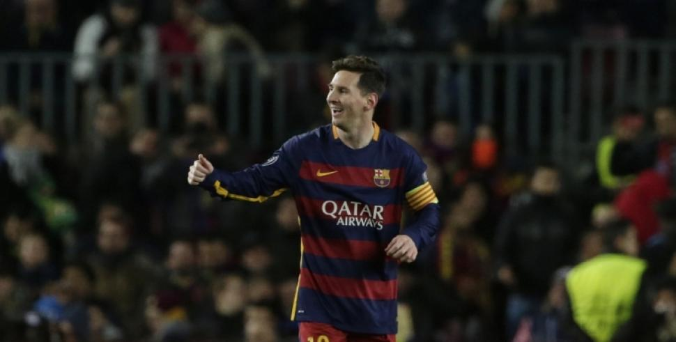 Messi se prepara para golear a River