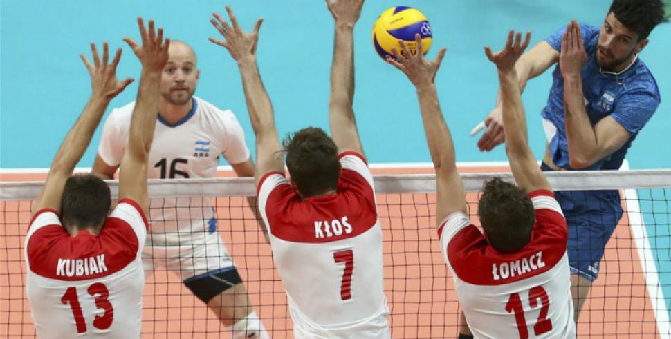 Juegos Olímpicos: Polonia fue contundente contra la selección de voley masculino
