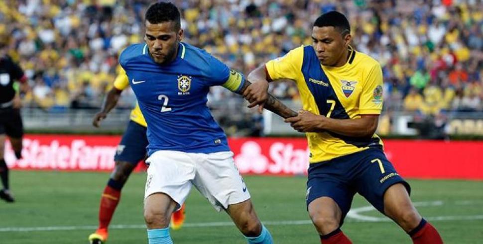 Brasil expuso su jerarquía en Quito