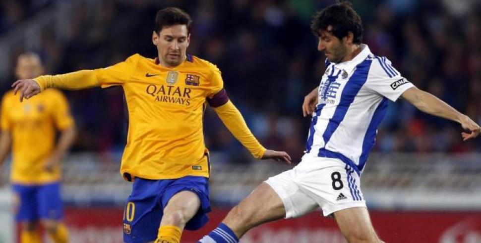 Ampliar (1 fotos). Real Sociedad y Barcelona ...