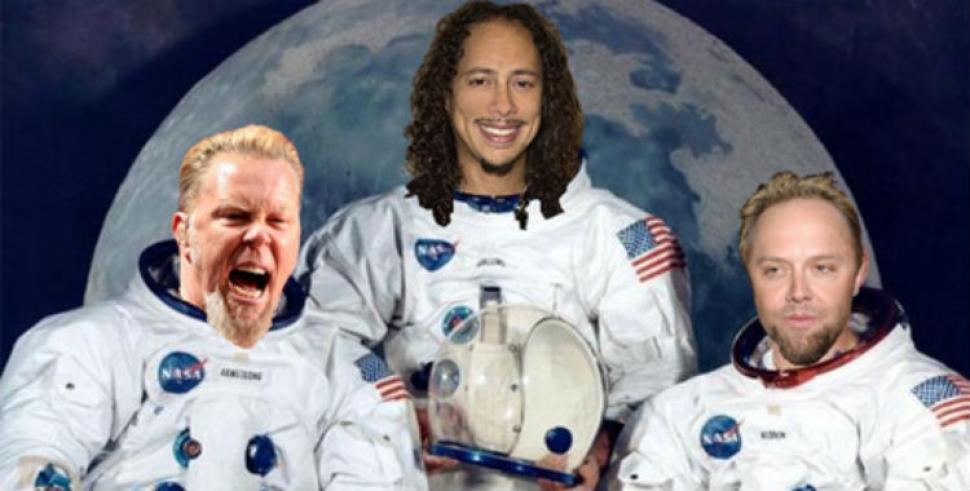 Metallica quiere ser la primera banda que toque en el espacio