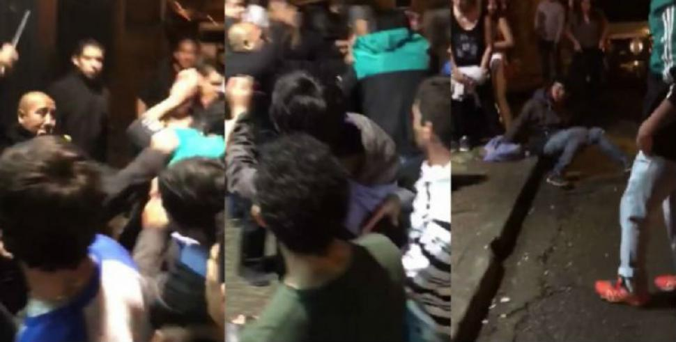 Brutal agresión de patovicas a chicos en un boliche