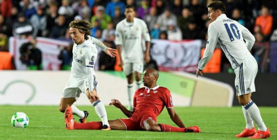 En vivo Real Madrid vs Sevilla. Partido de la Liga BBVA 2016/17 en directo  por sitios de Internet.