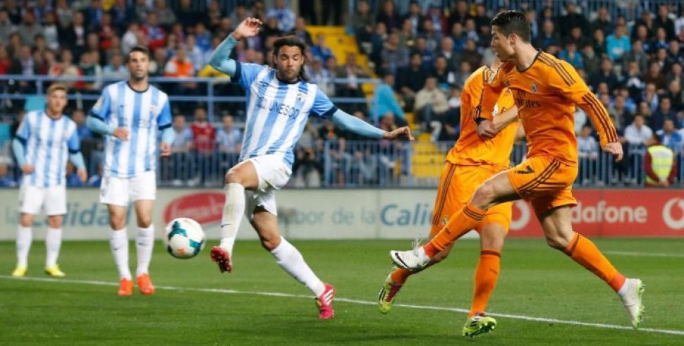 En vivo Málaga vs Real Madrid. Partido de la Liga BBVA 2016/17 en directo  por sitios de Internet.