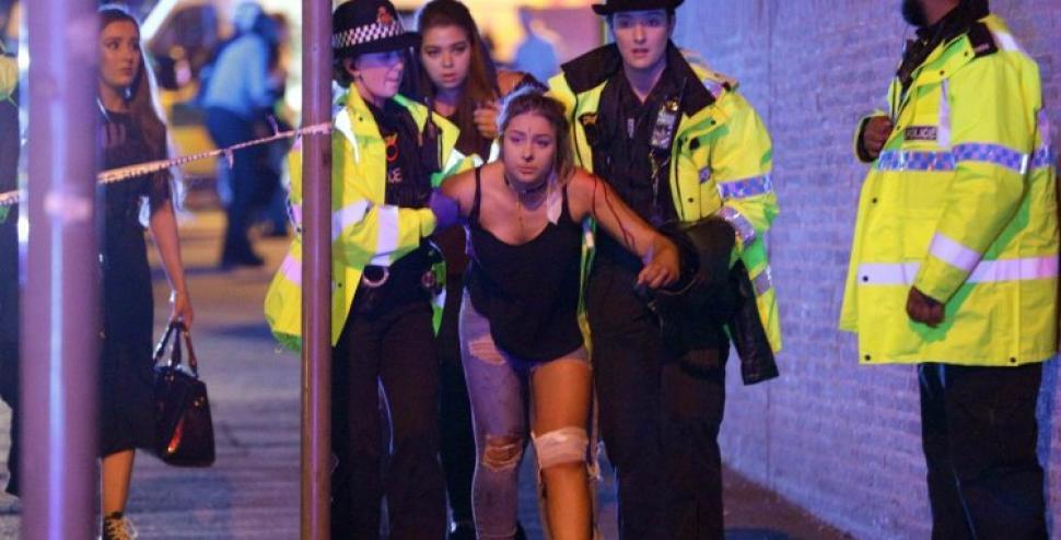 El momento exacto de la explosión en concierto en Manchester