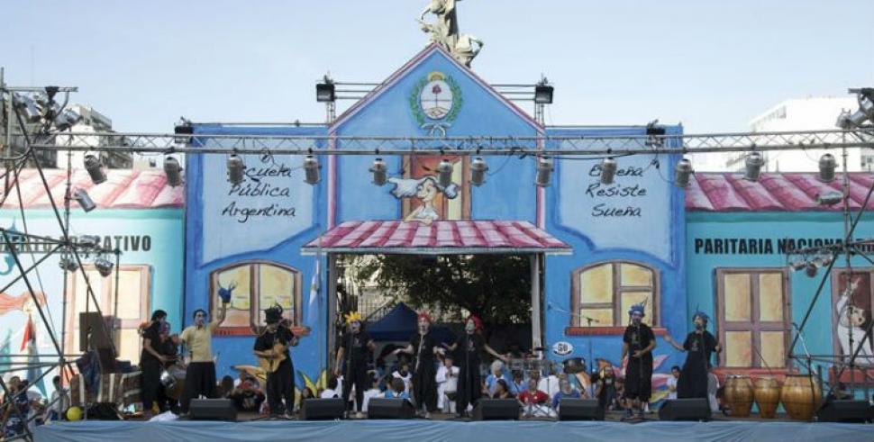 La escuela pública itinerante llega a Santa Fe