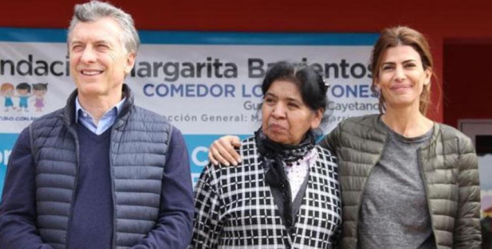 Macri feliz por abrir un comedor comunitario en santiago for Requisitos para abrir un comedor comunitario