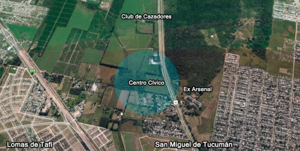 Resultado de imagen para centro civico tucuman urep