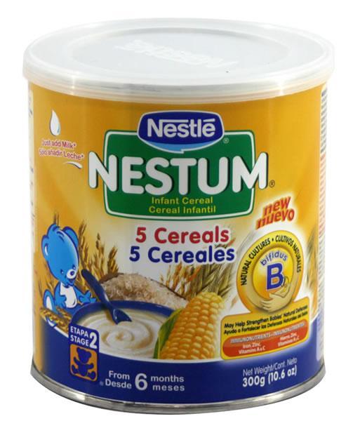 Retiran del mercado productos de nestl el diario 24 - Cereales bebe 5 meses ...