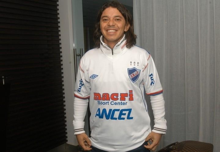 Marcelo Gallardo admitio no ser hincha de river plate.