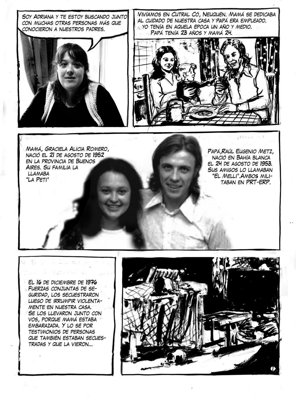 Historietas por la Identidad: Adriana Metz busca a su hermano | El Diario 24