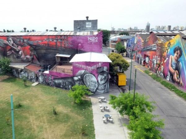 El mural m s grande del mundo est en argentina el diario 24 for El mural pelicula argentina